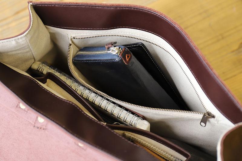 長財布をポケットに収納