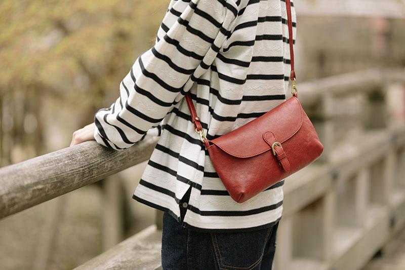 お散歩に使えるお財布ショルダーバッグ